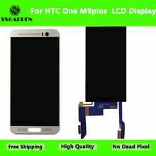 SXGARDEN For HTC Original M9 plus m9+ LCD Display With Touch Screen Digitizer Assembly Replacement Parts with frame m9plus