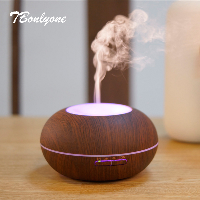 TBonlyone 300ML Aromatherapy Humidifier Aroma Lamp Ultrasonic Oil Diffuser Air Humidifier Essential Oil Diffuser for Home Spa<br>