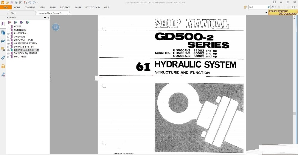 Komatsu Motorgraders Workshop Manuals (ALL)<br><br>Aliexpress