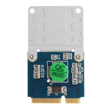 Mini PCI-E To Dual TF Micro SD With Half Bracket Memory Card Reader Adaptor #K400Y#(China)