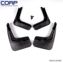 Mud Flap Splash Guard Fender Mudguard For 2013 Ford Fusion Molded 2014 Mondeo(China)