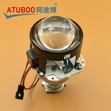 "1 Piece Good Quality 2.5"" WST Mini  H1 Projector Lens installed in H4 H7 car headlight,Hid use H1 Xenon bulb"