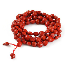 Red thread beans Pu Tizi beads 8mm natural seeds love Lucky Red Bodhi beads bracelets for women multilayer bracelet bijoux 0562