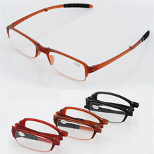 TR90 Ultra-light Folding Reading Glasses Men Women Portable Presbyopic Glasses for Female Male Reader Hyperopia Eyeglasses