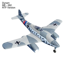 Dynam ME - 262 RC Drones 1500mm Wingspan Fixed-wing EDF Jet Aeroplane RTF Version RC Airplane