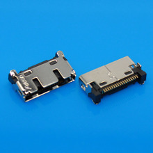 JCD 2-10pcs/lot 18pin Mini IO 18-pin receptacle Tablet PC Mobile Phone Netbook Micro USB Jack Micro USB Connector