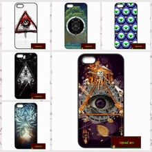 Triangle Eye of god Cover case for font b iphone b font 4 4s 5 5s