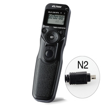 VILTROX LCD Time Lapse Intervalometer Timer Remote Shutter Release Control with N2 Cable for Nikon D70S D80 Camera