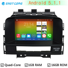1024X600 Android 5.1.1 Quad Core 1.6G CPU Car DVD Player For Buick Verano Vauxhall Opel Astra J WIFI GPS Navigation Radio Stereo