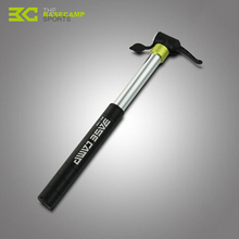 BASECAMP Bicycle Pump Portable Mini Cycling Bike Pumps Tyre Tire Ball Cycle Super Light Double Stroke Inflator Air Pump H5803(China)
