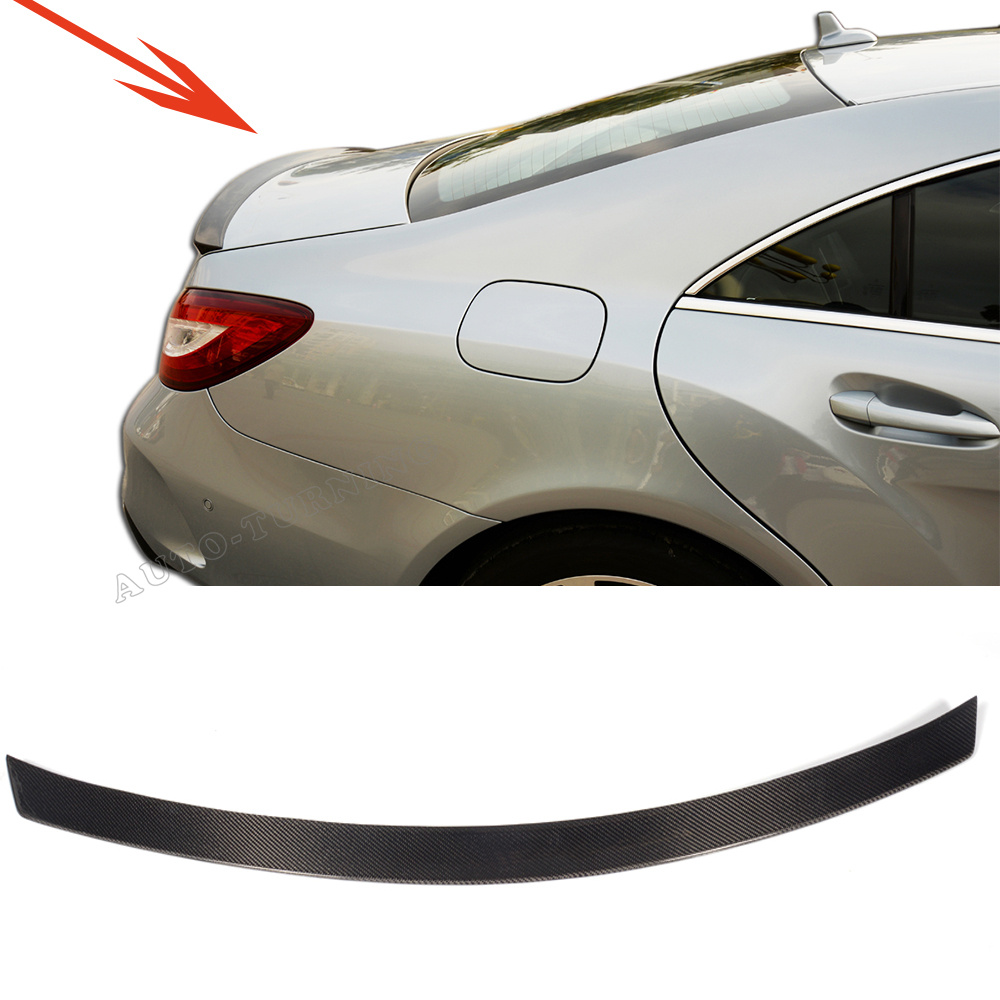 W218 Car-Styling Carbon Fiber Auto Rear Trunk Spoiler Wing for Mearcedes Benz W218 CLS500 CLS350 2011-2016<br><br>Aliexpress