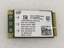 SSEA NEW Wireless Card For Intel WiFi Link 5300 AGN 533AN_MMW Mini PCI-E 2.4/5.0GHz 450M for IBM X200 X200S X300 R400