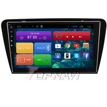 Top  Capacitive Screen 10.1'' Android 4.2 Car Stereo for Octavia From 2014 With GPS Map 16GB Nand Flash Memory Map