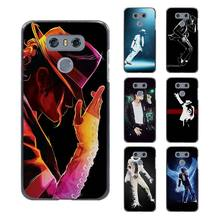 michael jackson dance style design hard black Case for LG G6 G5 G4 G3 V20 V10 K8 K4 K3 2017 LV5/k10 2017 LG stylus3