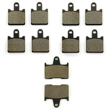 SOMMET Motorcycle Front + Rear Brake Pads Disks for Kawasaki ZZR 1400 / ZX 14 Ninja (ZX 1400 A / C) (06-14) ZZR1400 ZX1400