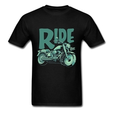 2017 Hot Sell Mens t-shirts Motorcycle Short Sleeve Ride t-shirt Retro est Luxury Men Tees Shirt  Make Your Own Shirt