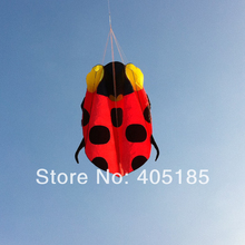 Free Shipping Outdoor Fun Sports Software Ladybug Power Kite
