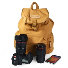Casual Style Camera Bag Caden F5 F15 Waterproof  Camera Backpack Rucksack with Inner Bag for Canon Nikon DSLR