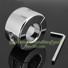 70mm 980g sex toy products adult chastity stainless steel penis ring for men sleeve metal cock ring male chastity unique dick(China)
