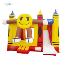 Durable Quality Factory Price Inflatable Castle Inflatable Bounce House With Slide(China)