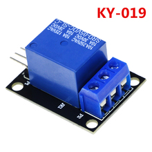 Smart Electronics 10Pcs KY-019 5V One 1 Channel Relay Module Board Shield For PIC AVR DSP ARM for arduino DIY KIT