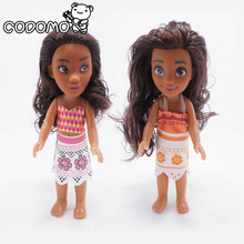 "6"" Inch 20cm Action Figures Baby Toys Movie Princess  Moana Doll Moana boneca Doll Pendant Anime Collection Moana Figures Toys"