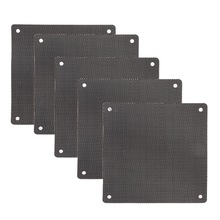 Case Fan Cover DUST-FILTER Chassis Mesh Computer 5pc 12cm-X-12cm PVC