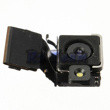 Hot Selling High Quality For iphone 4S Back Rear Big Camera Flex Cable With Flash Replacement Parts(China)