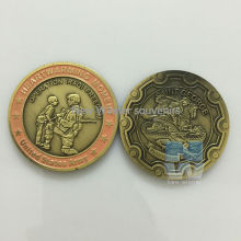 1PCS Heartwarming Moment USA army Souvenir Coin Operation Iraqi Freedom Anniversary Coins Free Shipping