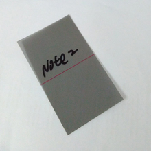 50pcs/lot Wholesale price for samsung galaxy note2 N7100 LCD Polarizer Film Polarization light Polaroid Film(China)