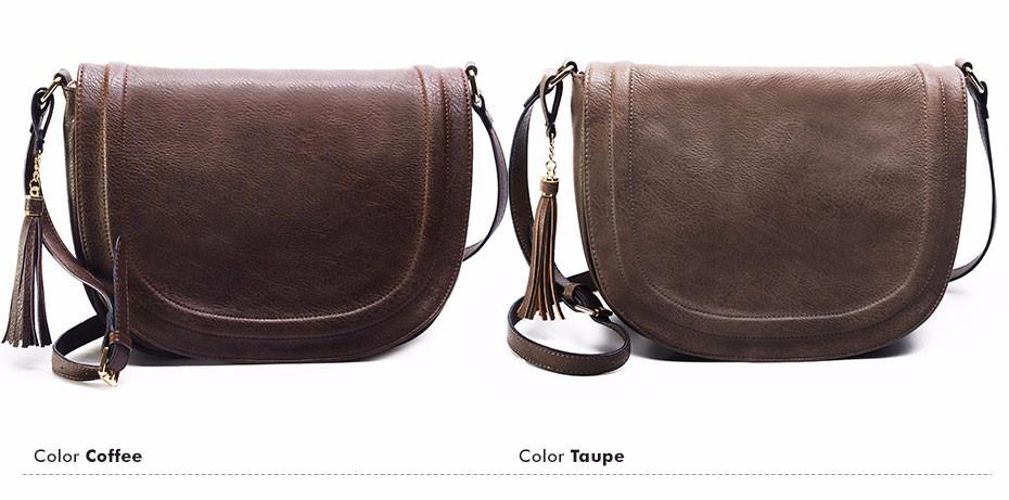 AMELIE GALANTI casual crossbody bag soft cover solid saddle fashion women messenger bags high quality shoulder bag for women (16)