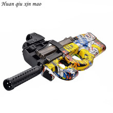 Graffiti Edition P90 Electric Toy Gun Paintball Live CS Assault Snipe Weapon Soft Water Bullet Bursts Gun Outdoors Toy(China)