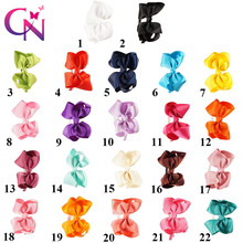 22 Pcs/lot Girls Solid Ribbon Bow Hairband With Teeth Kids Handmade Boutique Fashion Hard Headband Hair Accessories