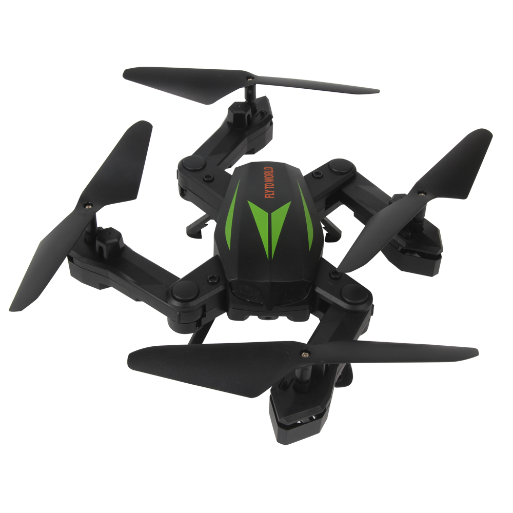 EBOYU(TM) F12W Foldable RC Quadcopter Drone 2.4Ghz Wifi FPV HD Camera w/ Headless Mode Altitude Hold One Key Take off Landing