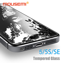 MOUSEMI Screen Protector For iPhone se 5s 5 Glass Protection 9H Premium Explosion-Proof Glass se 5s 5 For iPhone Glass Tempered(China)