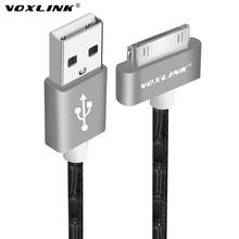 VOXLINK 1 meter USB Sync Data Charging Charger Cable Cord for iPhone 3G S 4 4S 4G for iPad 2 3 for iPod 30 Pin Cable