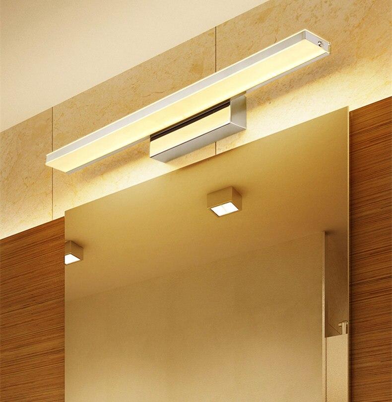 2018 NEUE wasserdichte led spiegelfront lampe led-lampen high-power ...