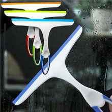 Glass Window Wiper Soap Cleaner Home Shower Bathroom Mirror Car Blade