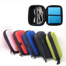 100pcs/lot New Hot Selling Earphone Storage Bag Carrying Case for Earphone Power Bank MP3 MP4 Pouches(China)