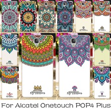 Soft TPU Silicone Mobile Phone Case For Alcatel OneTouch POP 4 Plus 5.5 inch Pop 4+ 5056M Back Covers My Free Life Shell Housing