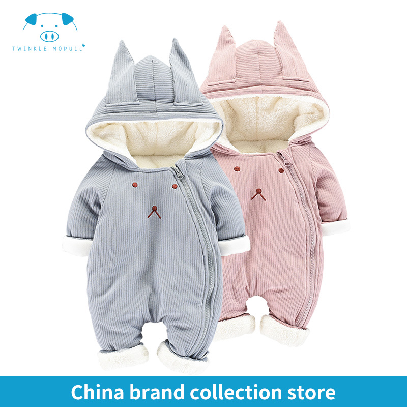 winter rompers newborn boy girl clothes set baby fashion infant baby brand products clothing bebe newborn romper MD160D035<br>