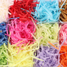 11 Color 20g Raffia Jute Wedding Party Gift Candy Packing Material Box Filler Supplies