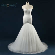 Buy Real Photo Luxury Croset Bodice New arrival Top Lace Back Trumpet/Mermaid Wedding Dress Bridal Gowns ASAW53 for $198.60 in AliExpress store