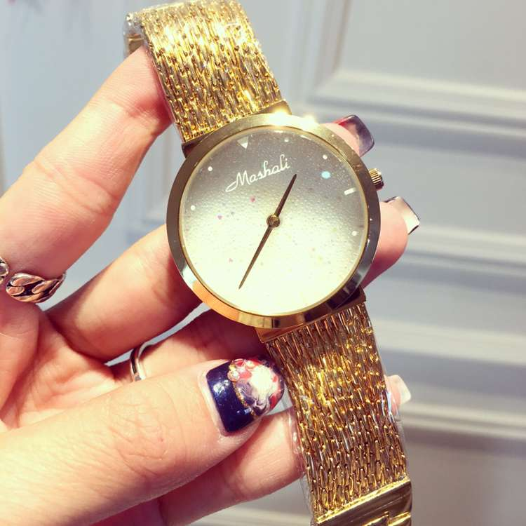 2017 Fashion Casual Clock Gold Bracelet Ladies Quartz Watch Women Rhinestone Watches Womens Elegance Wristwatch Relojes Mujer<br><br>Aliexpress