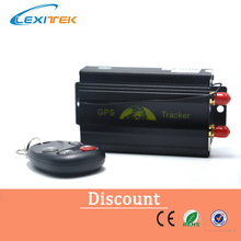 Quad band TK103B Vehicle GPS tracker Remote Control SD card GPS 103B PC&web-based GPS racking system(China)