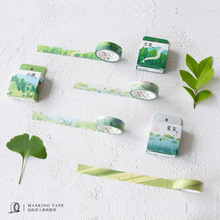 The 24 Solar Terms Washi Tape DIY  Scrapbooking Sticker Seasons Adhesive Tape Plants Masking Tape Dairy Notebook Decoration