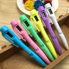 Electronic Watch Test Test Pen Electronics Clock Ballpoint Student Civil Servant To Work In An Office Special-purpose Ball pen(China)