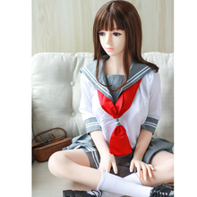 Buy 140cm real silicone sex dolls japanese love doll pte metal skeleton lifelike realistic adult sexy toys man sexually