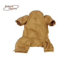 Soft Cloth Body For Large Newborn 20'' 22'' 3/4 Arms Legs Reborn Doll Kit Toys Accessories(China)