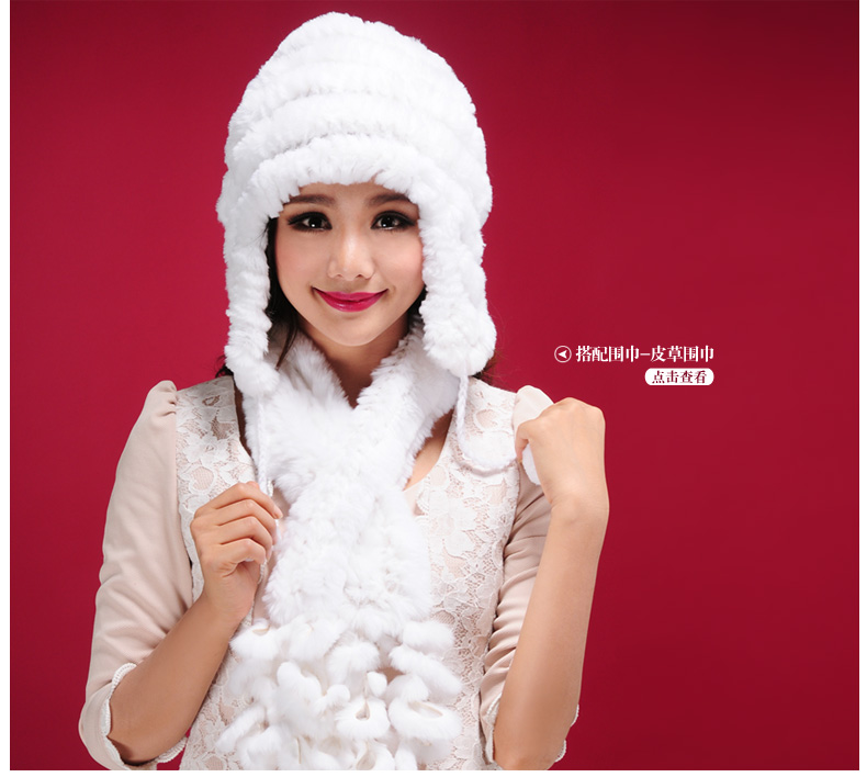 Top Fashion 2016 Womens Fur Cap Thermal Protector Ear Caps Rex Rabbit Hair Hat Dip Dyeing Casual Hats For Women Одежда и ак�е��уары<br><br><br>Aliexpress